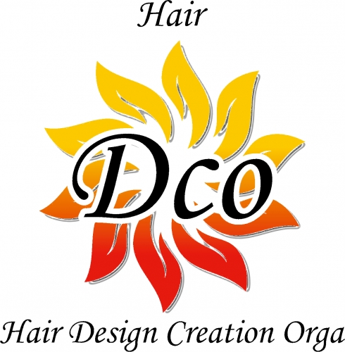 Hair Dco 〜Hair Design Creation Orga〜 ロゴ