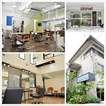 hair&make-up  Planet  ・ planet  blue