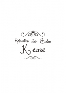 『Relaxation Hair Salon K ease』ロゴ